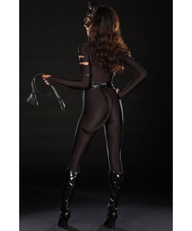 Black Jumpsuits Night Prowler Rompers