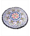 Wildflower Round Towel Beach Picnic Blanket