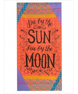 Sun and Moon Beach Towel Blanket