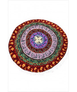 Cotton Mandala Round Tapestry Yoga Mat Beach Cover