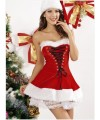Sweet and cute bandage wrapped chest collar Christmas costume
