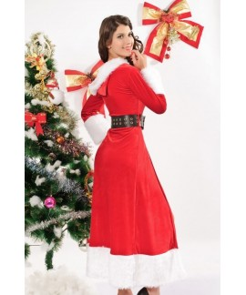 Christmas cloak hooded fantasy costume