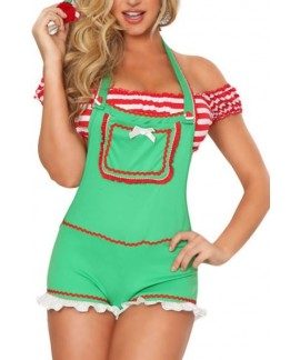 Enticing Elf Christmas Costume
