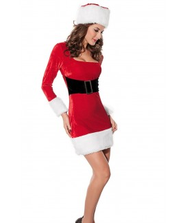 Long Sleeve Christmas Costume