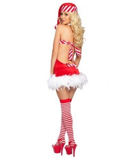 Santa Candy Christmas Costume
