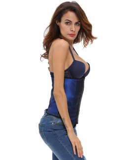 Sleek Latex Waist Cincher Shapewear Corset for Waist Training