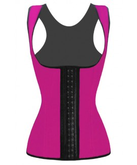 Waist Trainer Cincher 4 Steel Bones Underbust Workout Corset for Weight Loss Sport Body Shaper
