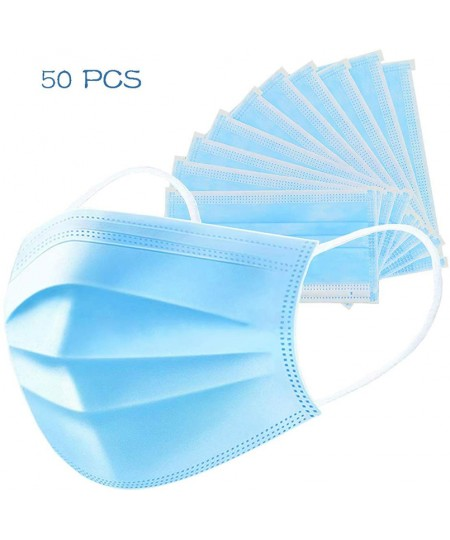 Disposable Earloop Mouth Face Mask 3-Layers Masks COVID-19