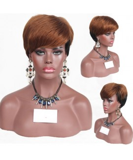 Short straight Celebrity megan synthetic wig