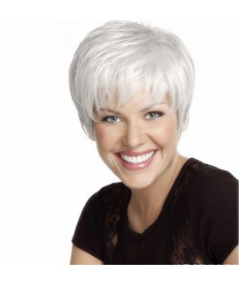 Ombre short straight Sally synthetic wig