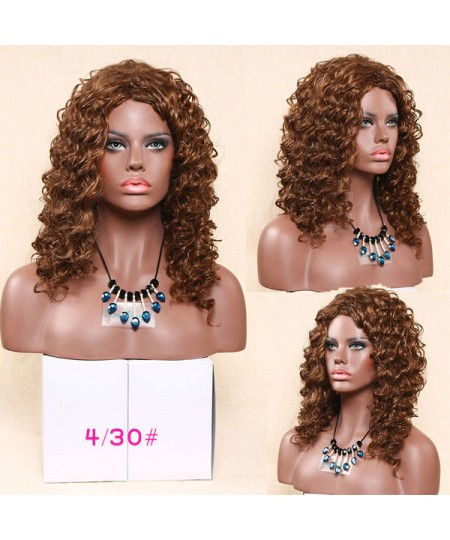 Celebrity shag loose curl synthetic wig