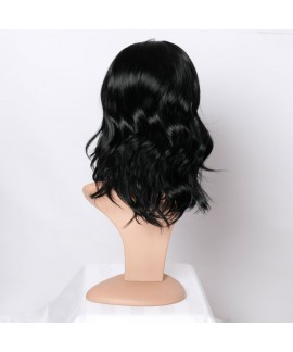 Black body wave celebrity synthetic wig for women