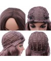 Cosplay body wave gradient synthetics wig for women