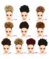 Ball head small curly hair explosive hair bunch for women