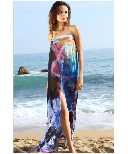 Large swimming beach veil Bikini smock wrap skirt