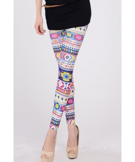 Colorful Geometric World Legging