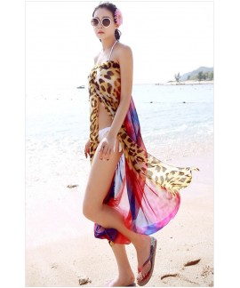 Sexy Bohemian loose wild beach dress