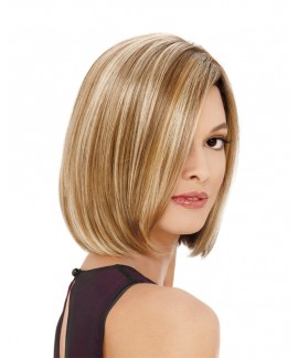 New straight blond bob womens short wigs