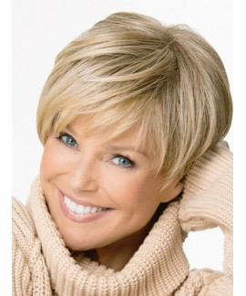 Mary Beth Short Layered Straight Capless womens natural wig