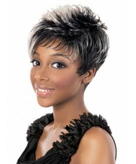 Short pixes & boycuts black womens natural wig