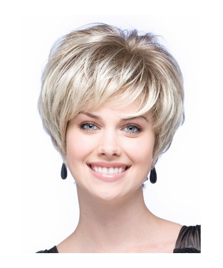 Short curly Charming Hairstyle Short Straight Wig