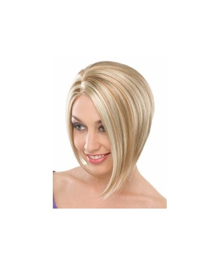 Womens short straight cheap natural hair wigs