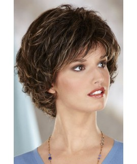 Debie henry margu wigs short curly cancer wig